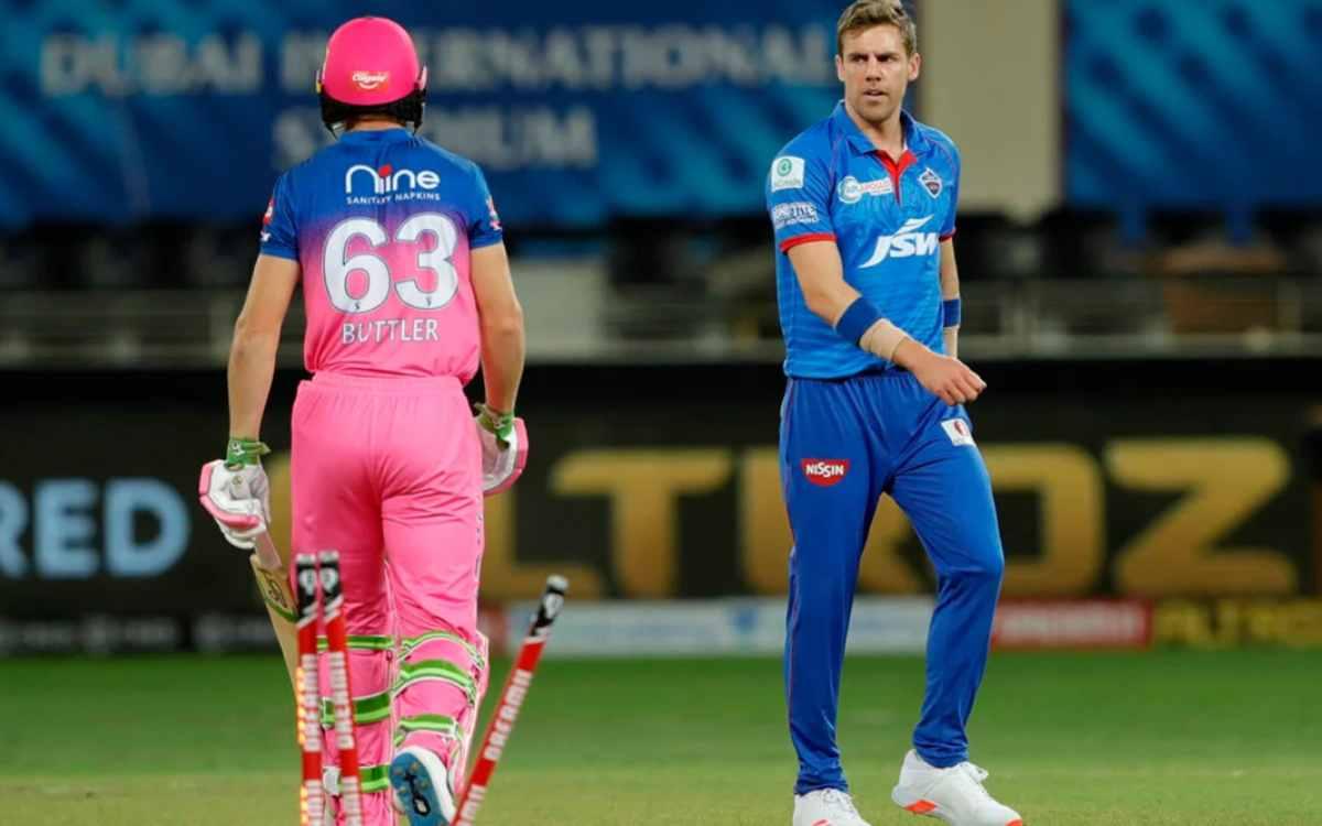 Cricket Image for दिल्ली कैपिटल्स की टीम को एक और बड़ा झटका, तेज़ गेंदबाज़ एनरिक नॉर्खिया हुए कोविड