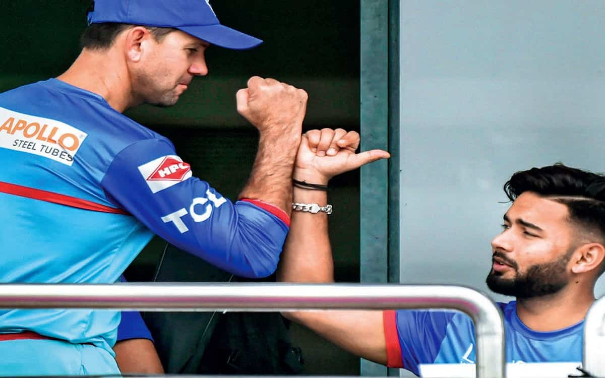 Cricket Image for Delhi Capitals Coach Ricky Ponting And Captain Rishabh Pant Eyes On Their First Ip