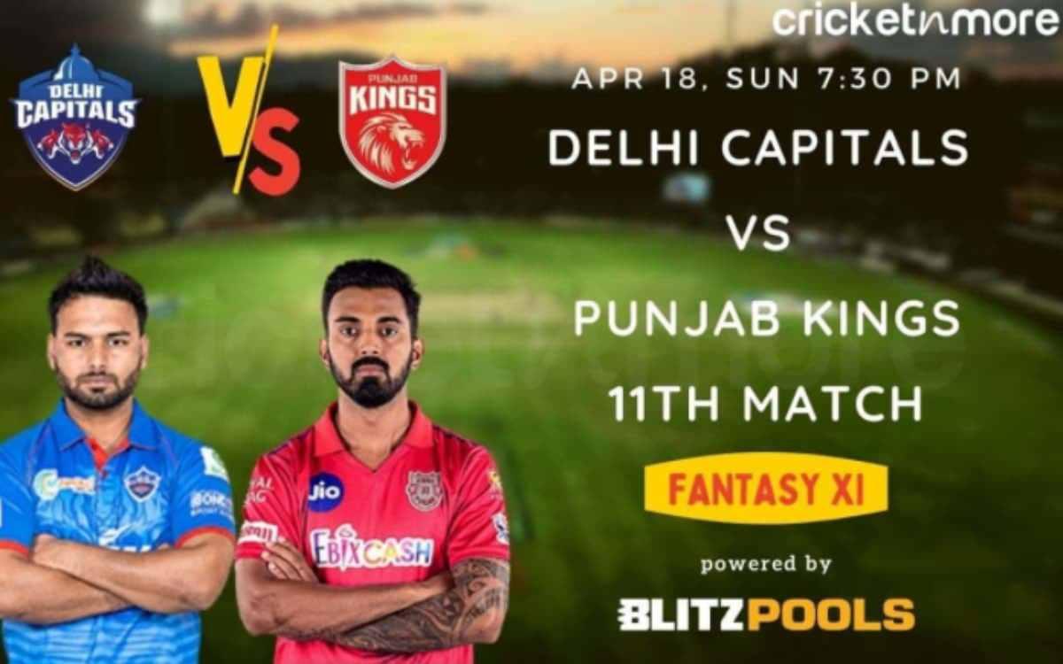 Cricket Image for IPL 2021 - ਦਿੱਲੀ ਕੈਪਿਟਲਸ ਬਨਾਮ ਪੰਜਾਬ ਕਿੰਗਜ਼, Blitzpools ਫੈਂਟੇਸੀ XI ਟਿਪਸ