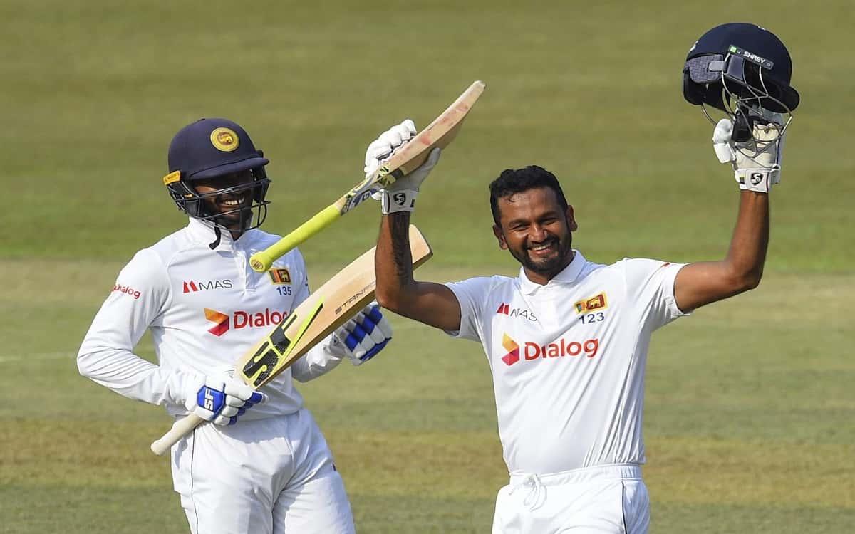 Cricket Image for SL vs BAN, First Test: Karunaratne, De Silva Power Sri Lanka To 512/3