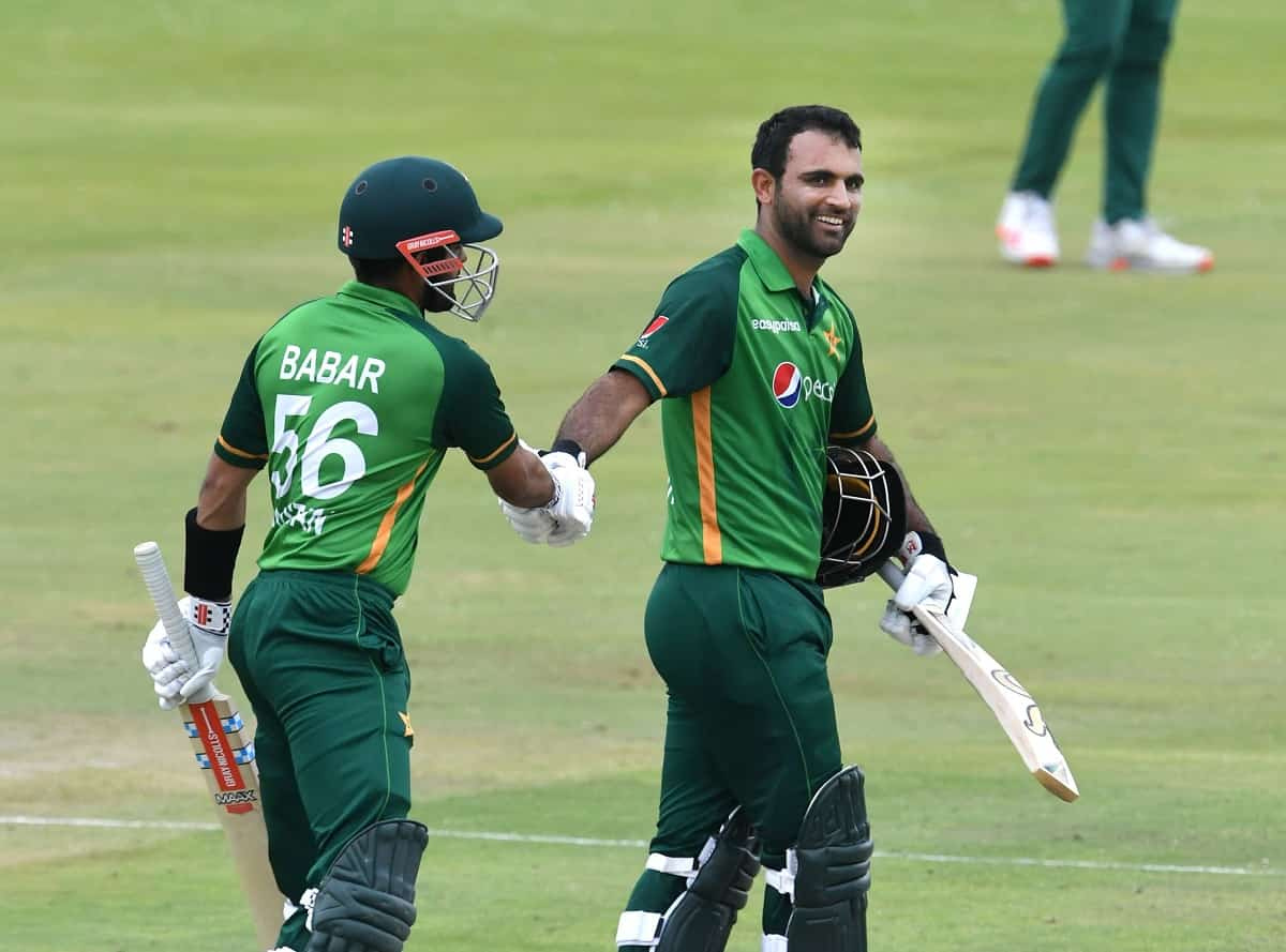 Cricket Image for Fakhar Zaman, Babar Help Pakistan Post 320/7 Against South Africa In Series Decide