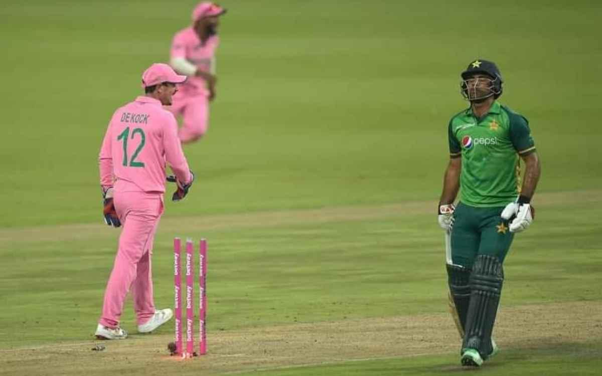 Cricket Image for 193 पर रनआउट होने के बाद फखर ज़मान ने तोड़ी चुप्पी, कहा- 'इसमें डीकॉक की नहीं, मेर