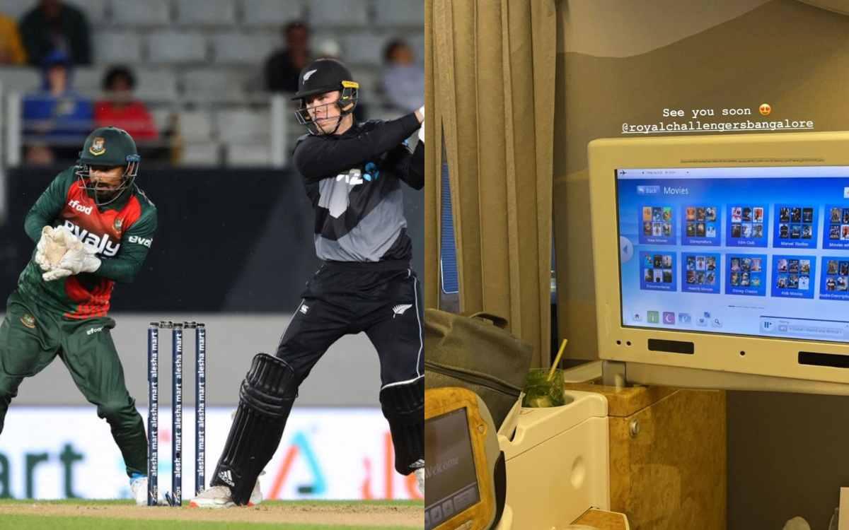 Cricket Image for 'मैं जल्दी ही आ रहा हूं RCB', बांग्लादेश की धुनाई करने के बाद फिन एलेन ने भरी इंडि