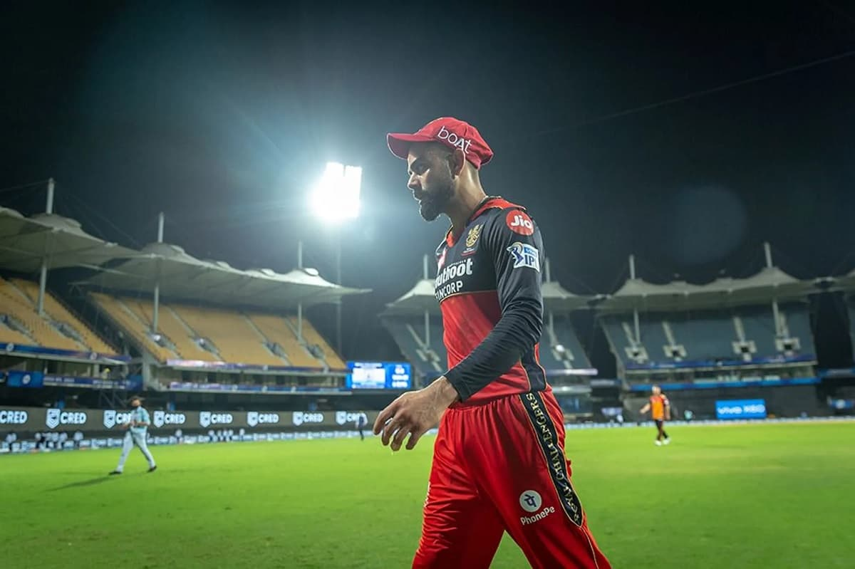 Cricket Image for Watch: Frustrated Kohli Takes Out His Anger On A Chair, Reprimanded