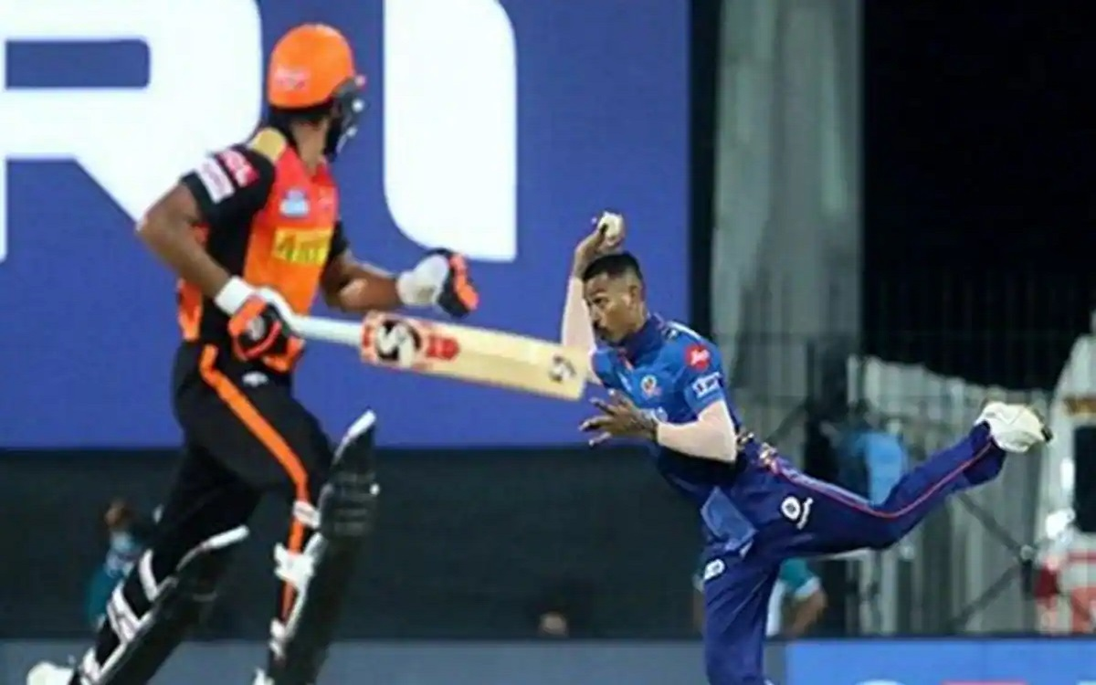 Cricket Image for IPL 2021: Hardik Pandya's Fielding Inside Circle Adds To India's Resources