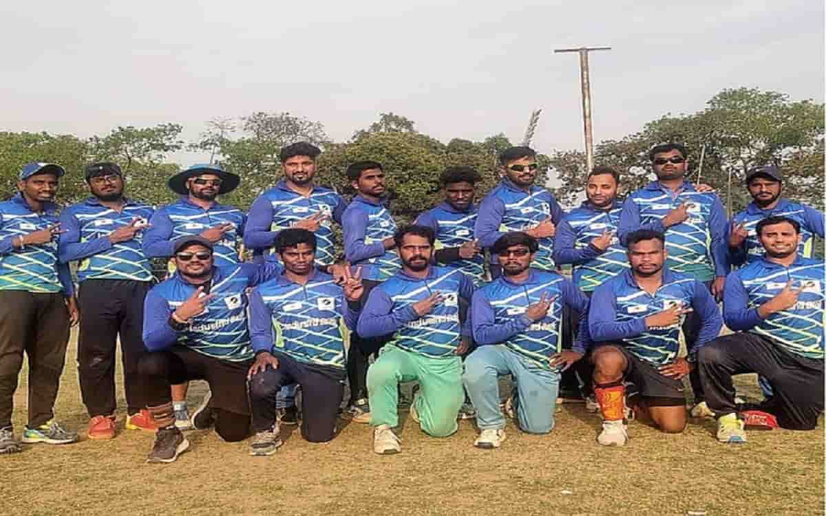 Indian blind team ready to play tri-series with Bangladesh-Pakistan