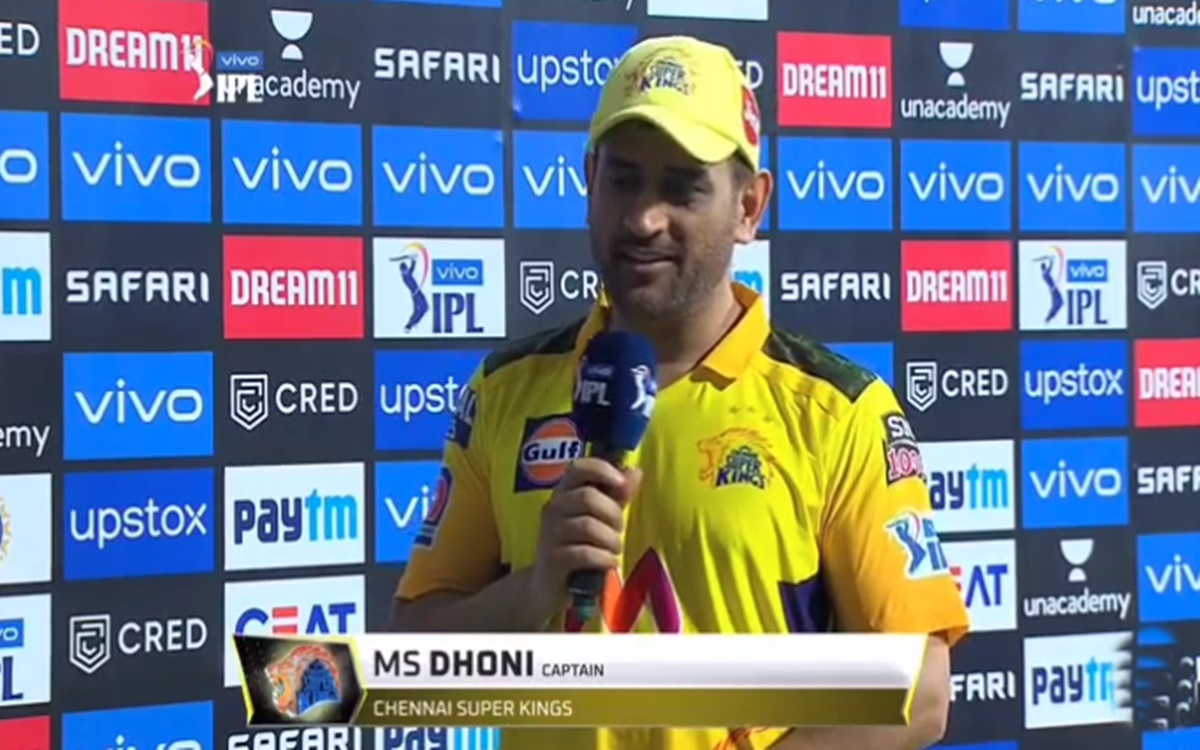 Cricket Image for Ms Dhoni Cheeky Response On Playing 200 Games For Csk