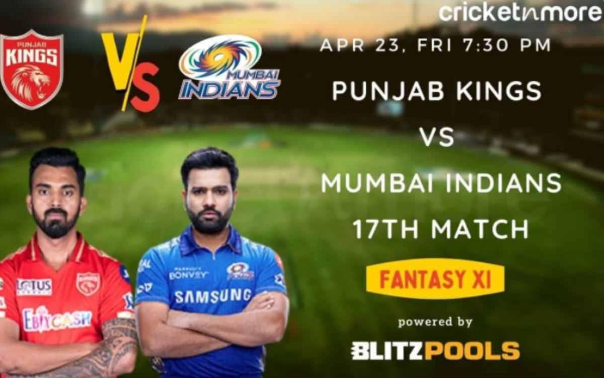Cricket Image for ਆਈਪੀਐਲ 2021 - ਮੁੰਬਈ ਇੰਡੀਅਨਜ਼ ਬਨਾਮ ਪੰਜਾਬ ਕਿੰਗਜ਼, Blitzpools ਫੈਨਟਸੀ ਇਲੈਵਨ ਟਿਪਸ