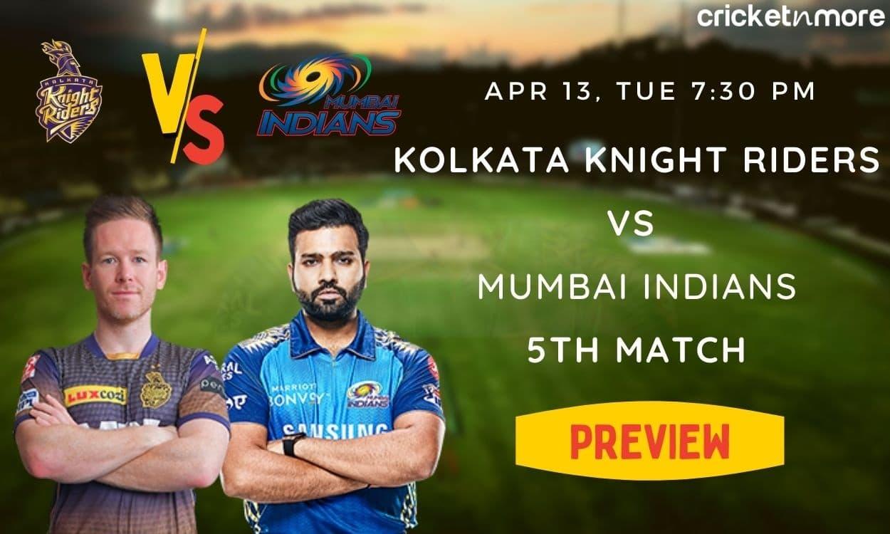Cricket Image for IPL 2021, Preview: With De Kock Back, MI Take On Buoyant KKR