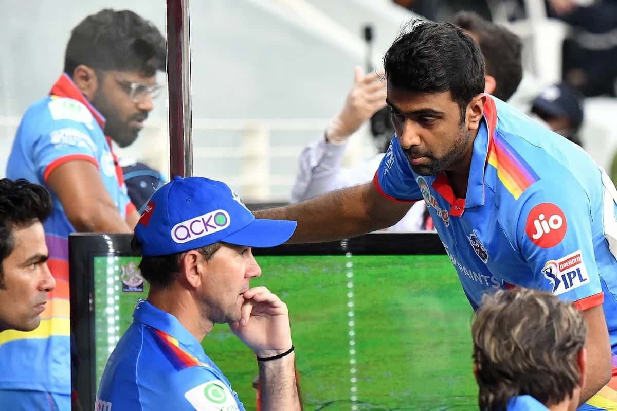 Cricket Image for IPL 2021: Ricky Ponting Admits Not Bowling Ashwin Against RR Was A Mistake