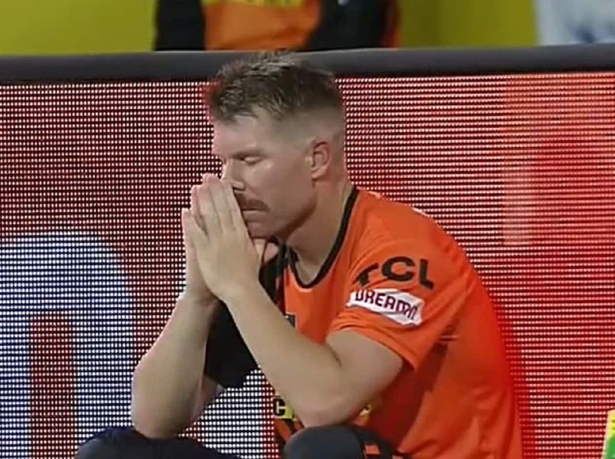Cricket Image for 'It Is Just Poor': SRH's Batting Disappoints Warner