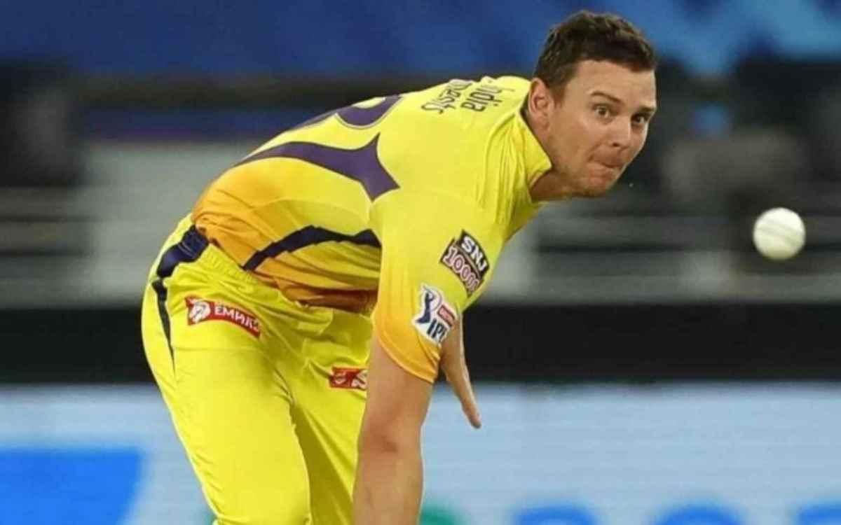 Cricket Image for जॉश हेज़लवुड ने किया बड़ा खुलासा, बताया- 'आईपीएल 2021 में क्यों किया चेन्नई की टीम