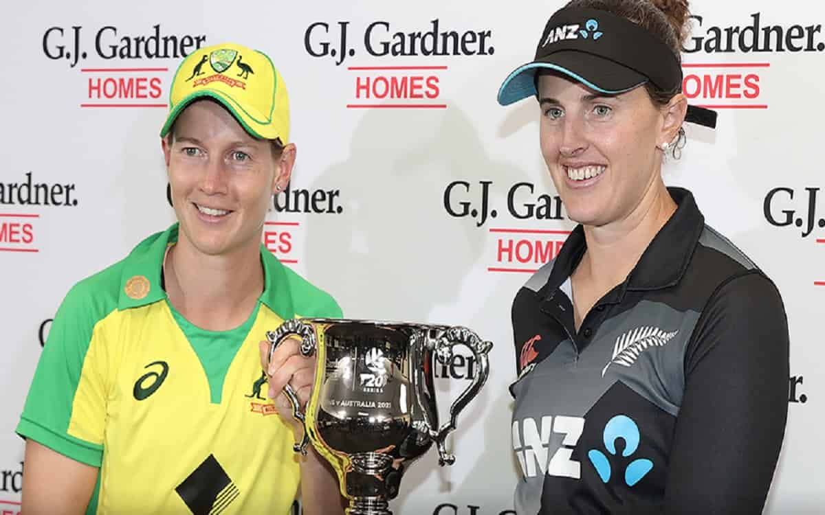 Cricket Image for Last T20 Match Between Australia And New Zealand Womens Team Draw Due To Rain