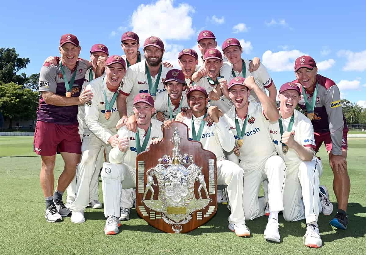 Cricket Image for Marnus Labuschagne Heroics Help Queensland Seal Sheffield Shield Title