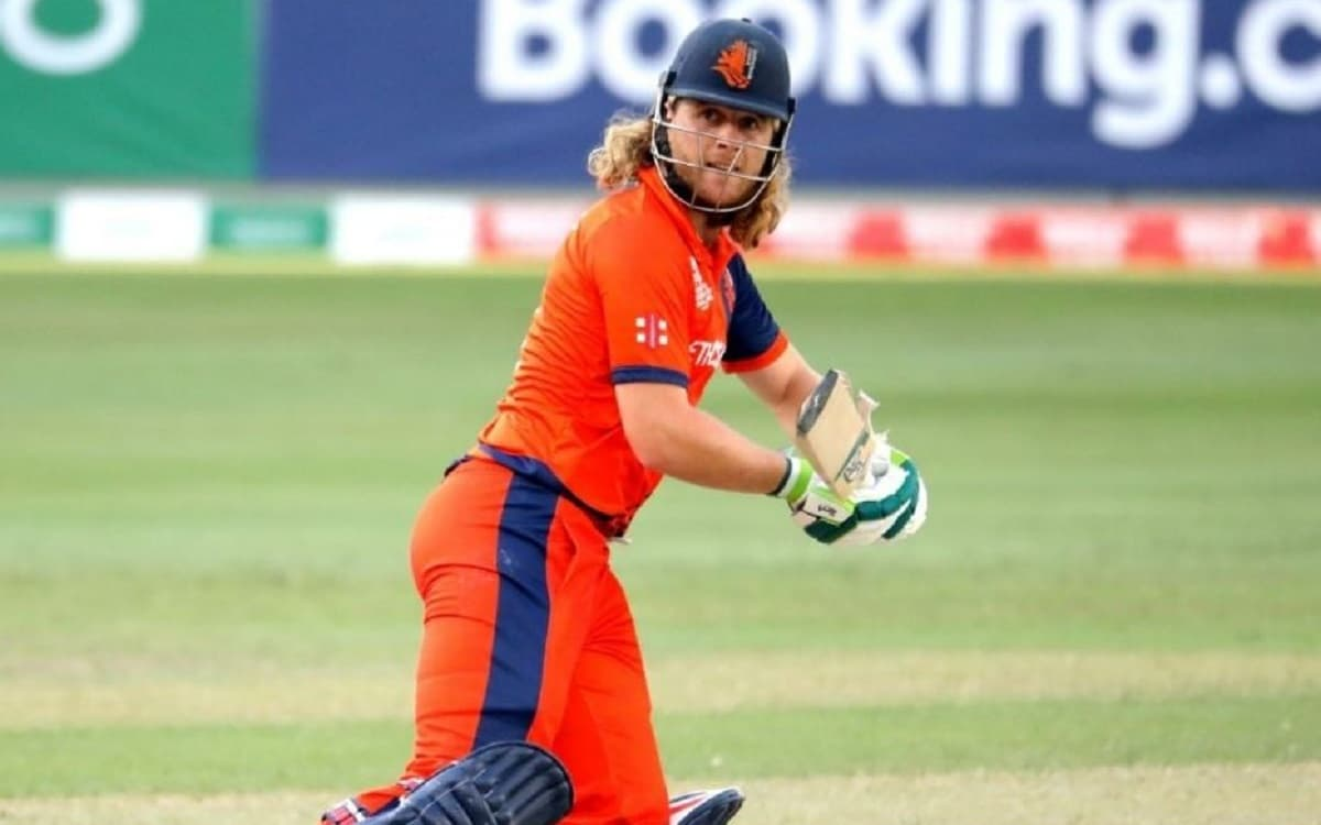 Cricket Image for Max O'Dowd Becomes 1st Dutch Player To Score T20I Ton
