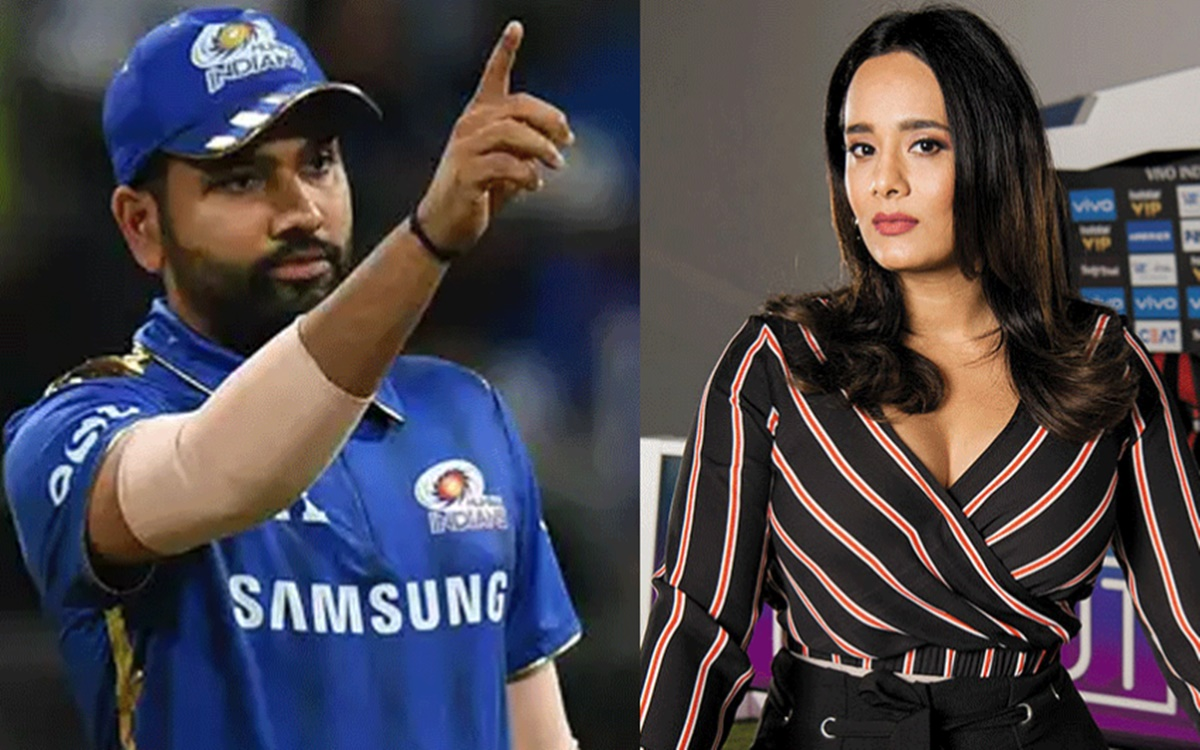 Cricket Image for Mayanti Langer Troll After Her Tweet On Rohit Sharma