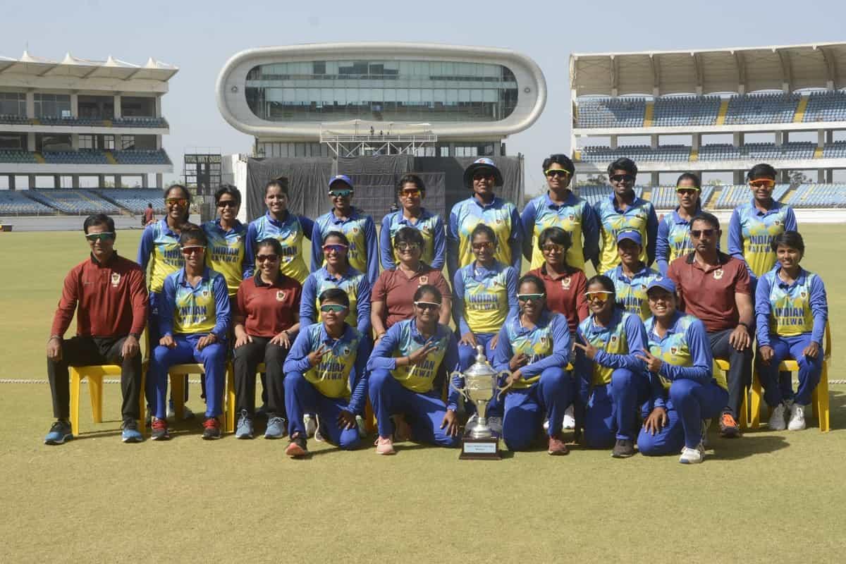 Cricket Image for Mithali Raj Leads Railways To 13th Women's ODI Title