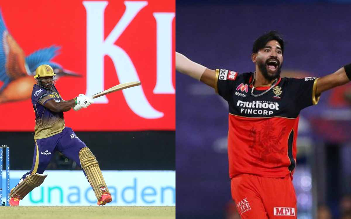 Cricket Image for VIDEO : सिराज की यॉर्कर्स के सामने बेबस नजर आए रसल, 19वें ओवर में सिर्फ एक रन देकर