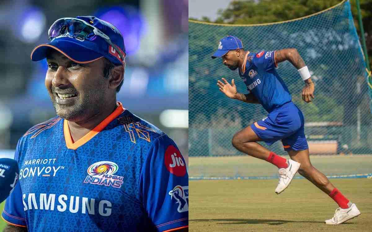 Cricket Image for MI Nursing Pandya's Shoulder Niggle He Picked During England Series, Says Coach Ja
