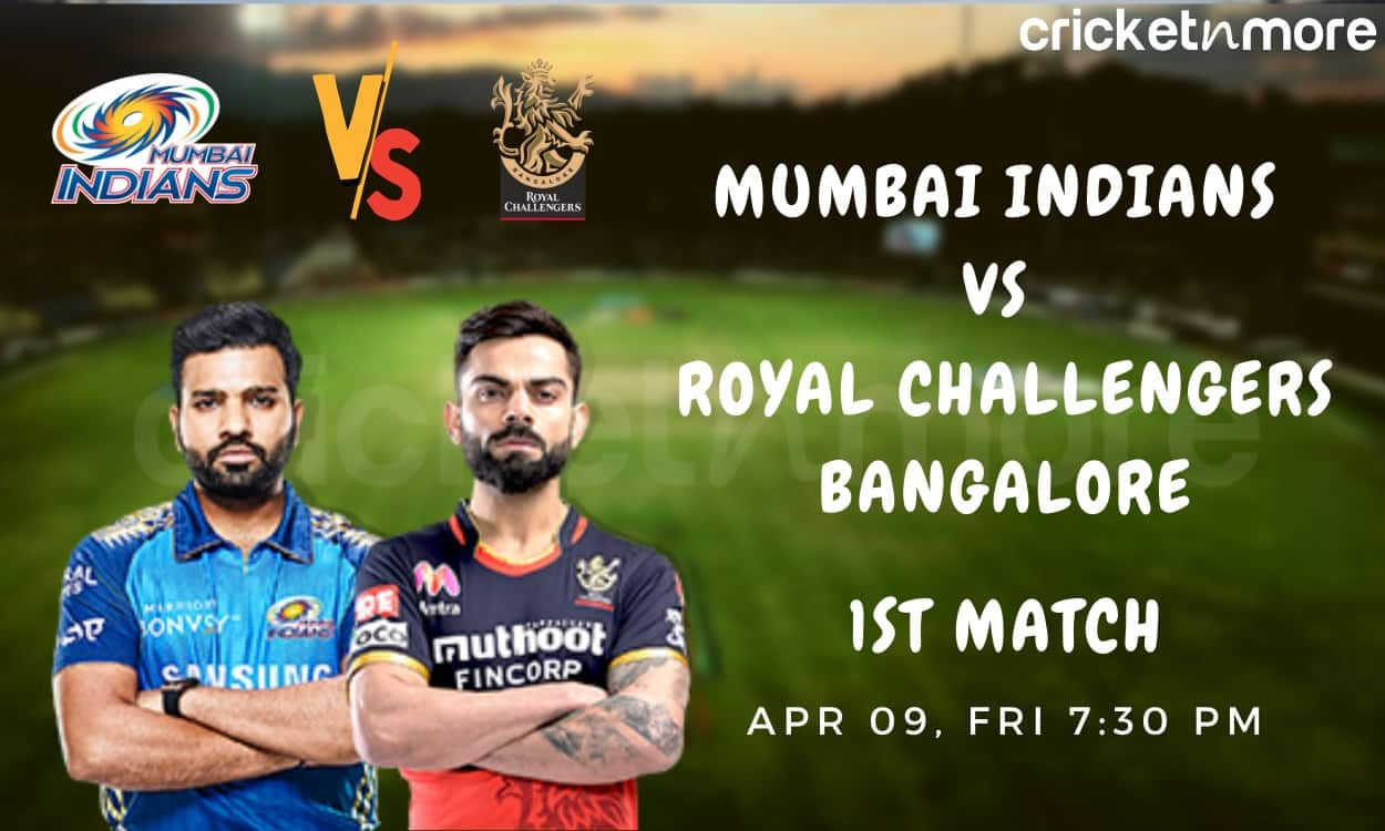 Cricket Image for MI v RCB, 1st Match IPL 2021 Probable Playing XI: Who Will Open With Kohli?