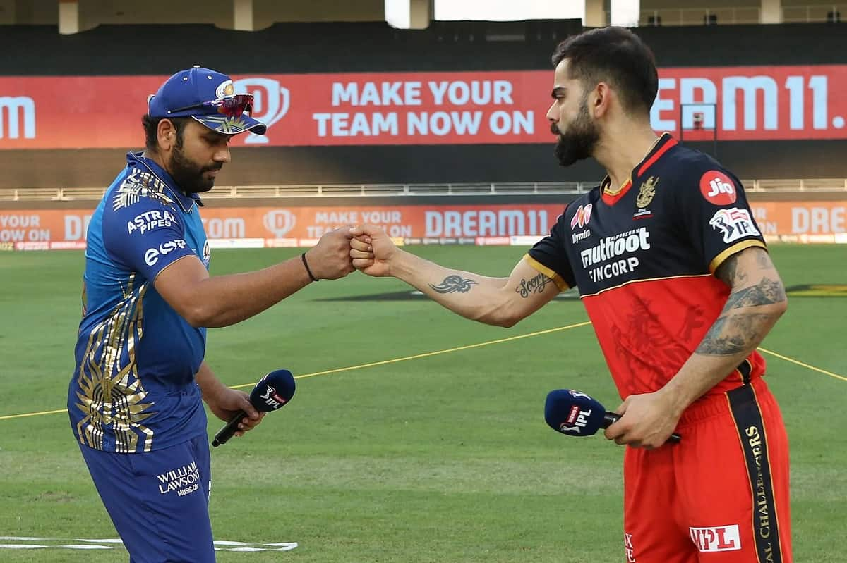 Cricket Image for Mumbai Indians vs Royal Challengers Bangalore - Head To Head Records