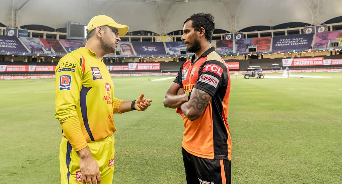 Cricket Image for Natarajan Recalls His Interaction With Dhoni In IPL 2020