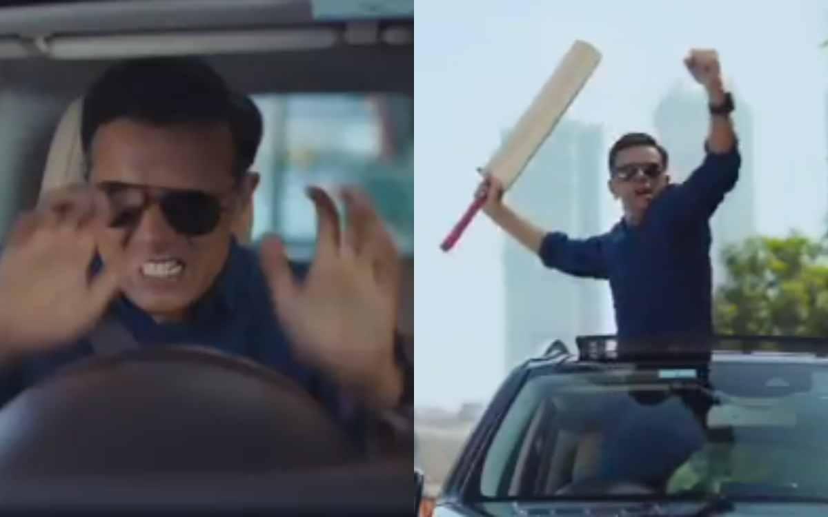 Cricket Image for VIDEO : 'नहीं देखा होगा राहुल द्रविड़ का ऐसा अंदाज़', वीडियो देखकर विराट कोहली भी