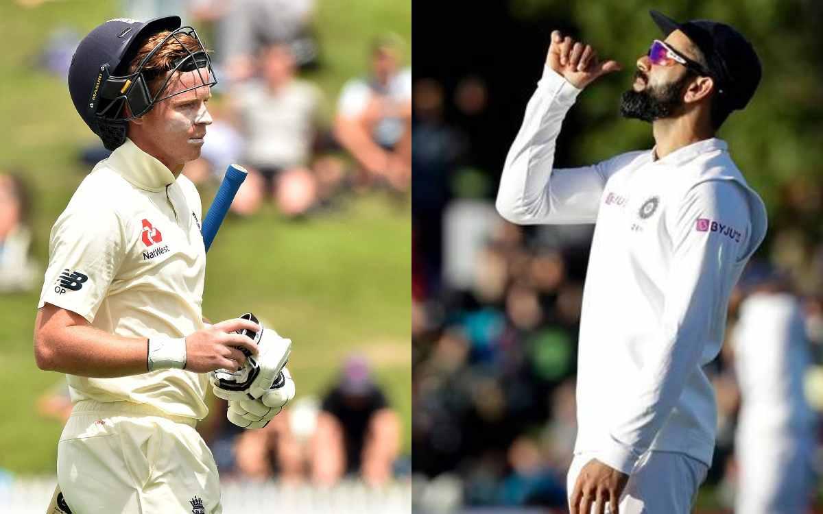 Cricket Image for इंग्लिश बल्लेबाज़ ओली पोप का बड़ा खुलासा, कहा- 'टेस्ट सीरीज के बीच में ही कोहली ने