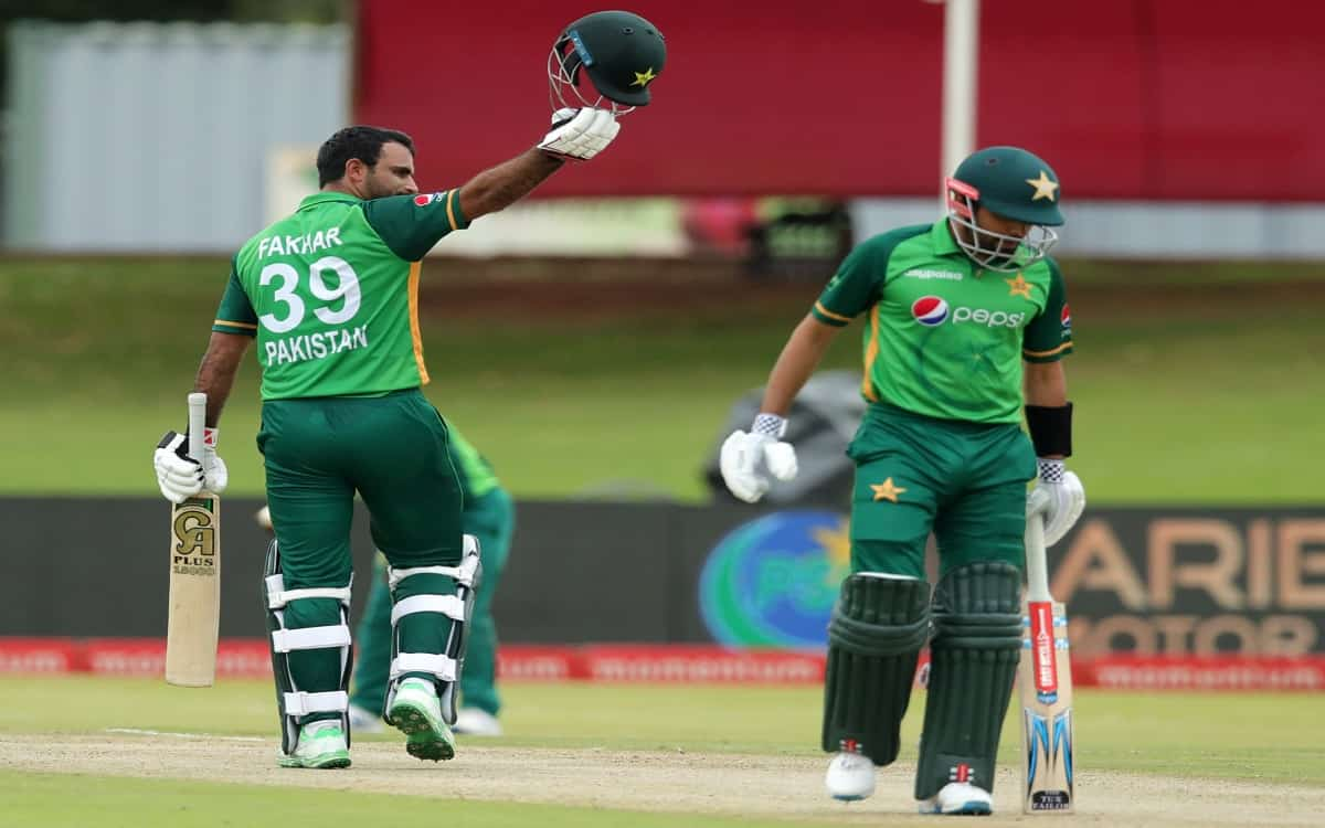 Cricket Image for Pakistan Gave South Africa A Big Target Of 321 Runs On The Basis Of Fakhar Zamans