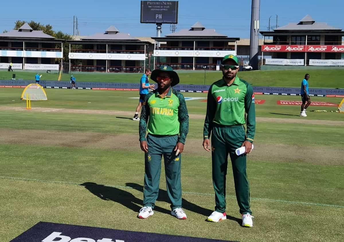 1st ODI: Pakistan Opt To Bowl Against South Africa
