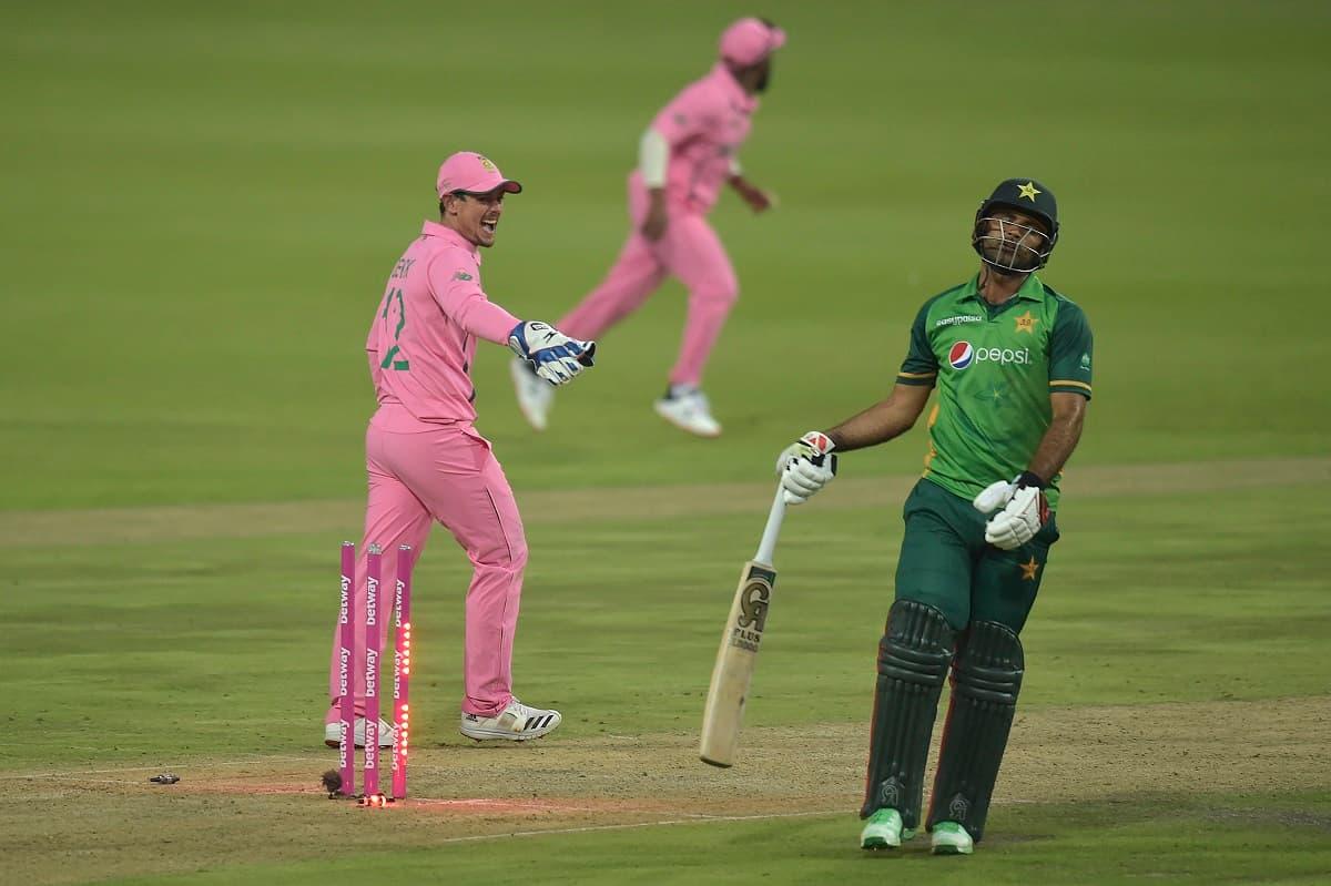 Cricket Image for Pollock Criticises De Kock 'Deception' Over Zaman Run-Out