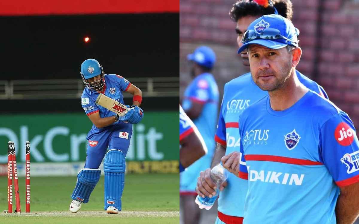 Cricket Image for पृथ्वी शॉ ने आंखों में आंखें डालकर कर दिया था रिकी पोंटिंग को इनकार, दिल्ली कैपिटल