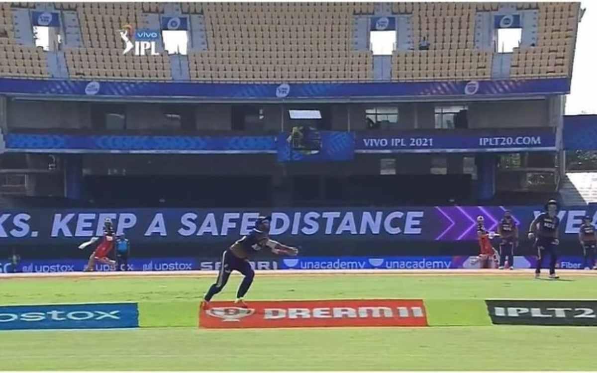 Cricket Image for VIDEO :  राहुल त्रिपाठी बने 'सुपरमैन', 19 मीटर दौड़कर पकड़ा विराट कोहली का हैरतअंग