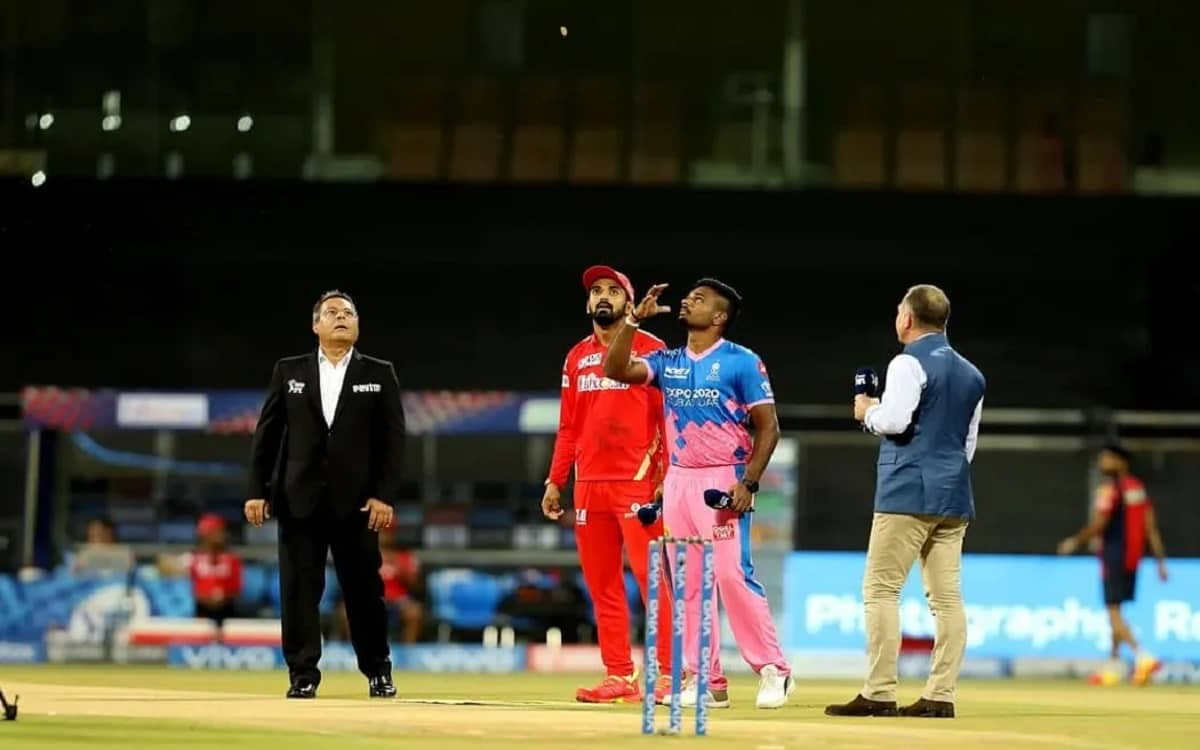 Cricket Image for Rajasthan Royals Decide To Bowl After Winning The Toss Against Punjab Kings