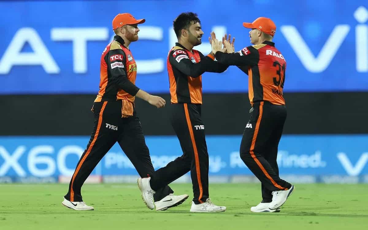 Cricket Image for IPL 2021: Rashid Khan, Mohammad Nabi Help SRH Restrict Flying KKR To 187/6