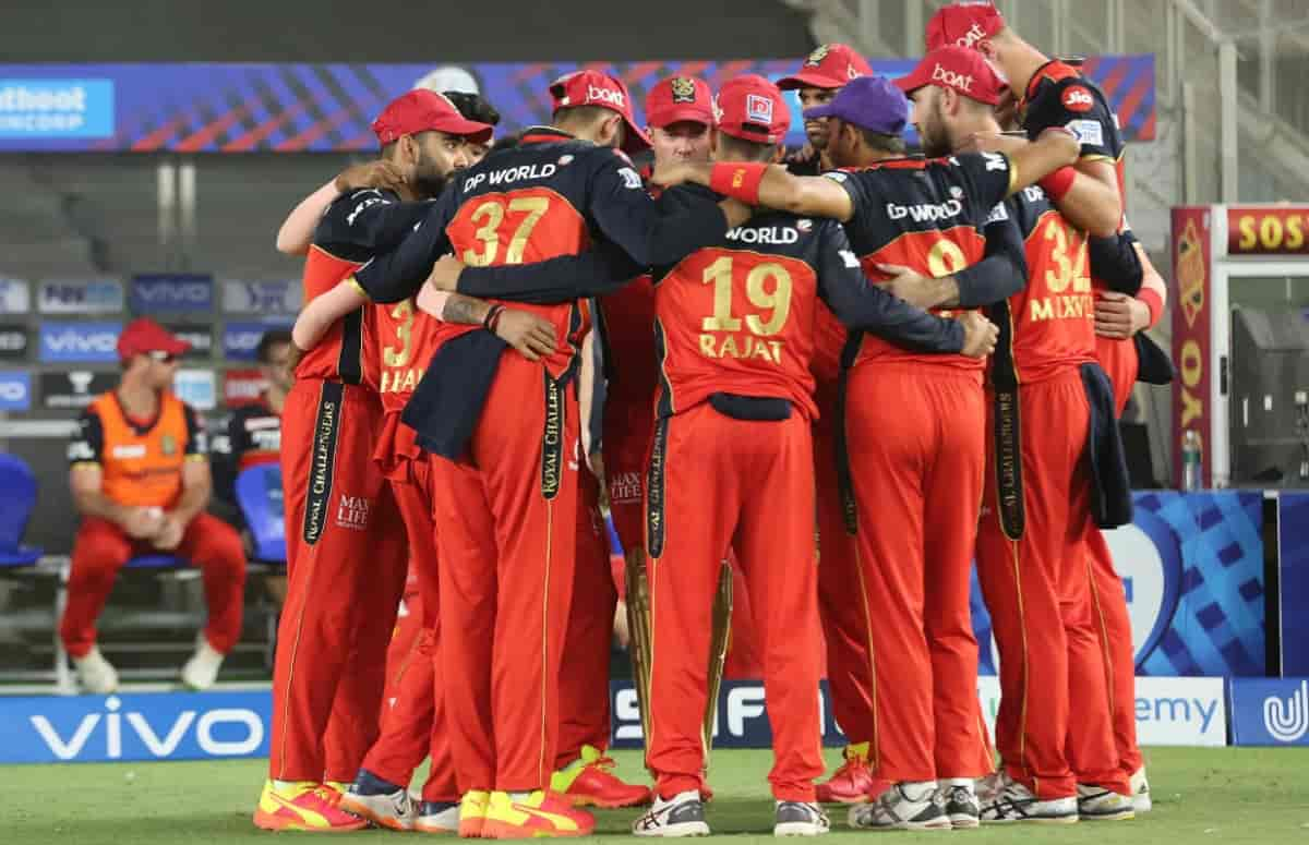 rcb probable playing xi for match against Punjab Kings