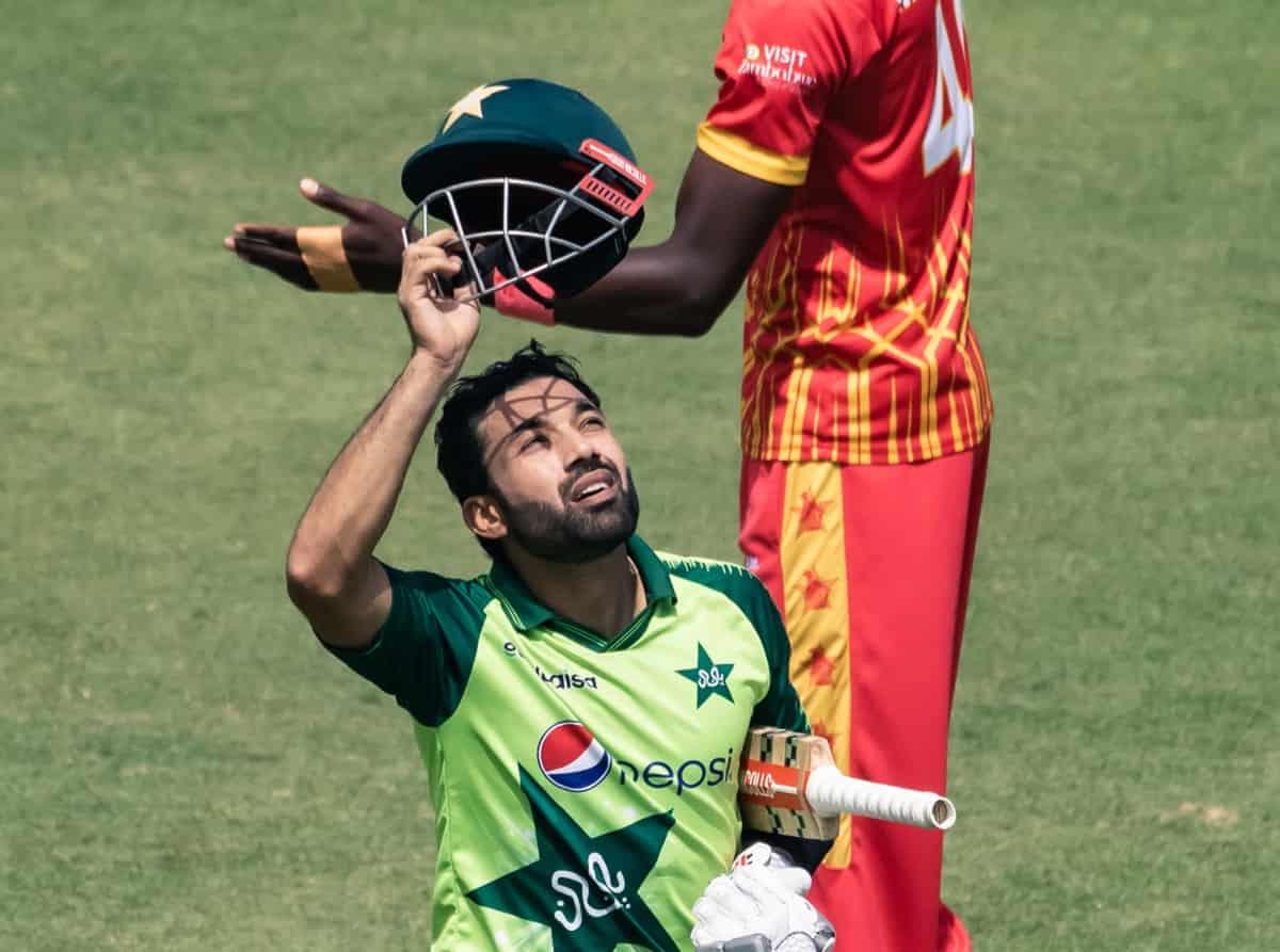 Cricket Image for 3rd T20I: Rizwan's 91 Takes Pakistan To 165/3 Against Zimbabwe