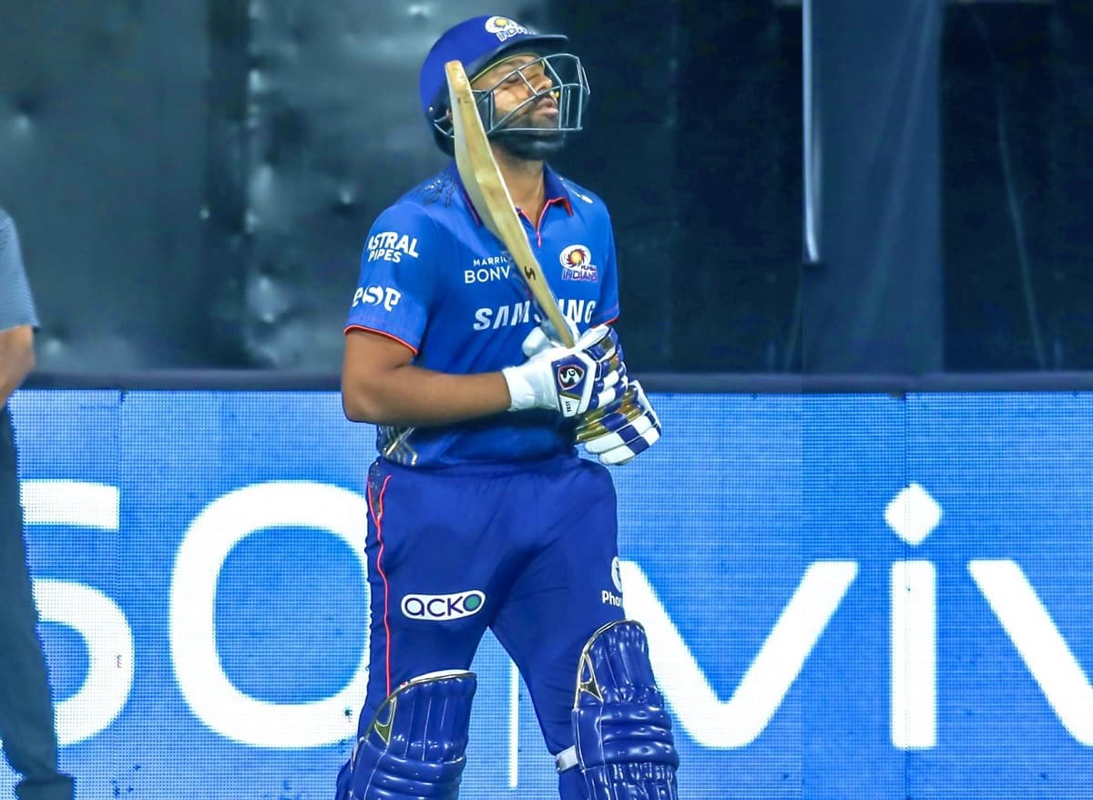 Cricket Image for IPL 2021: Rohit Sharma Bats For 'Save The Corals' Awareness Campaign During SRH Ti