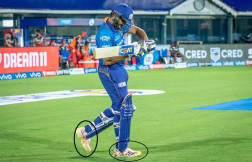 Rohit Sharma came to the rescue of rhinoceros, the player raised awareness in a different way on the field