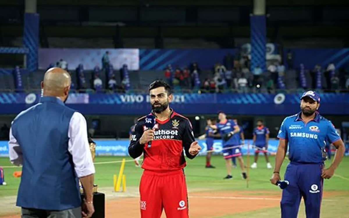 Cricket Image for Royal Challengers Bangalores Decision To Choose Bowling After Winning The Toss Aga