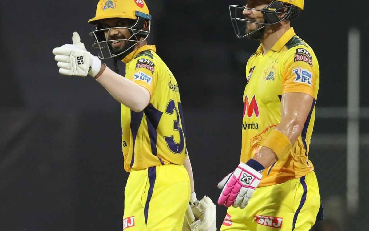 Cricket Image for 'प्लेयर कैसे बनाते हैं, कोई चेन्नई सुपरकिंग्स से सीखे', रुतुराज गायकवाड़ ने तूफानी