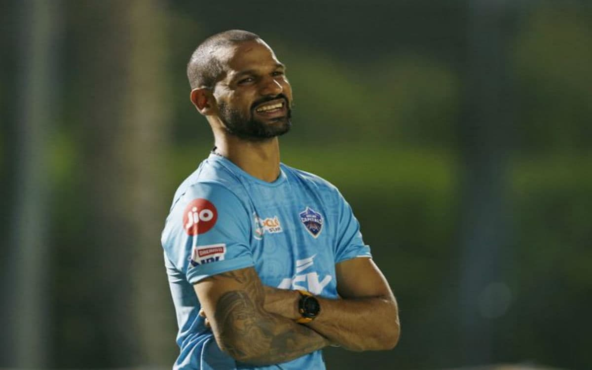 Cricket Image for IPL 2021: After Success In England ODIs, Shikhar Dhawan Joins DC Camp