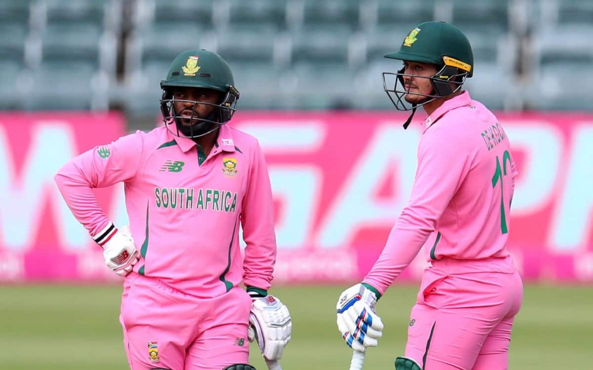 Cricket Image for South Africa Cricket Team Gave Pakistan A Target Of 342 Runs In Second Odi Match