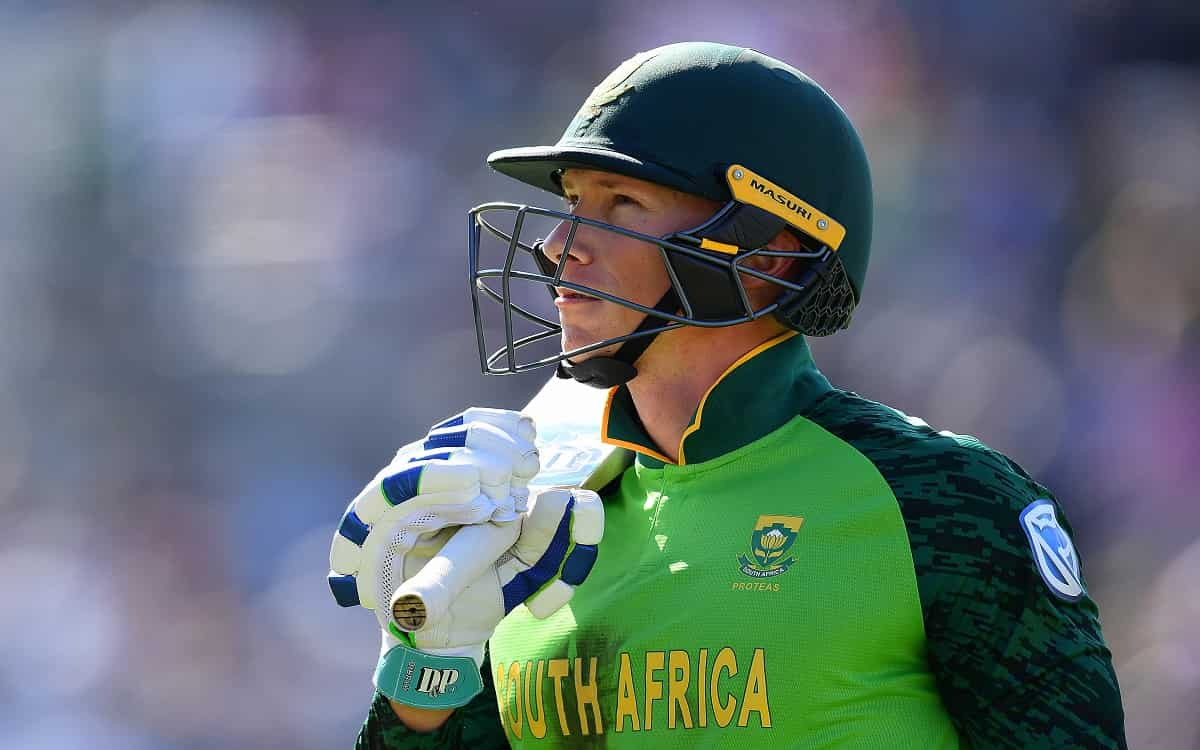 South Africa gets a big blow against Pakistan after Dusen out of third ODI due to injury