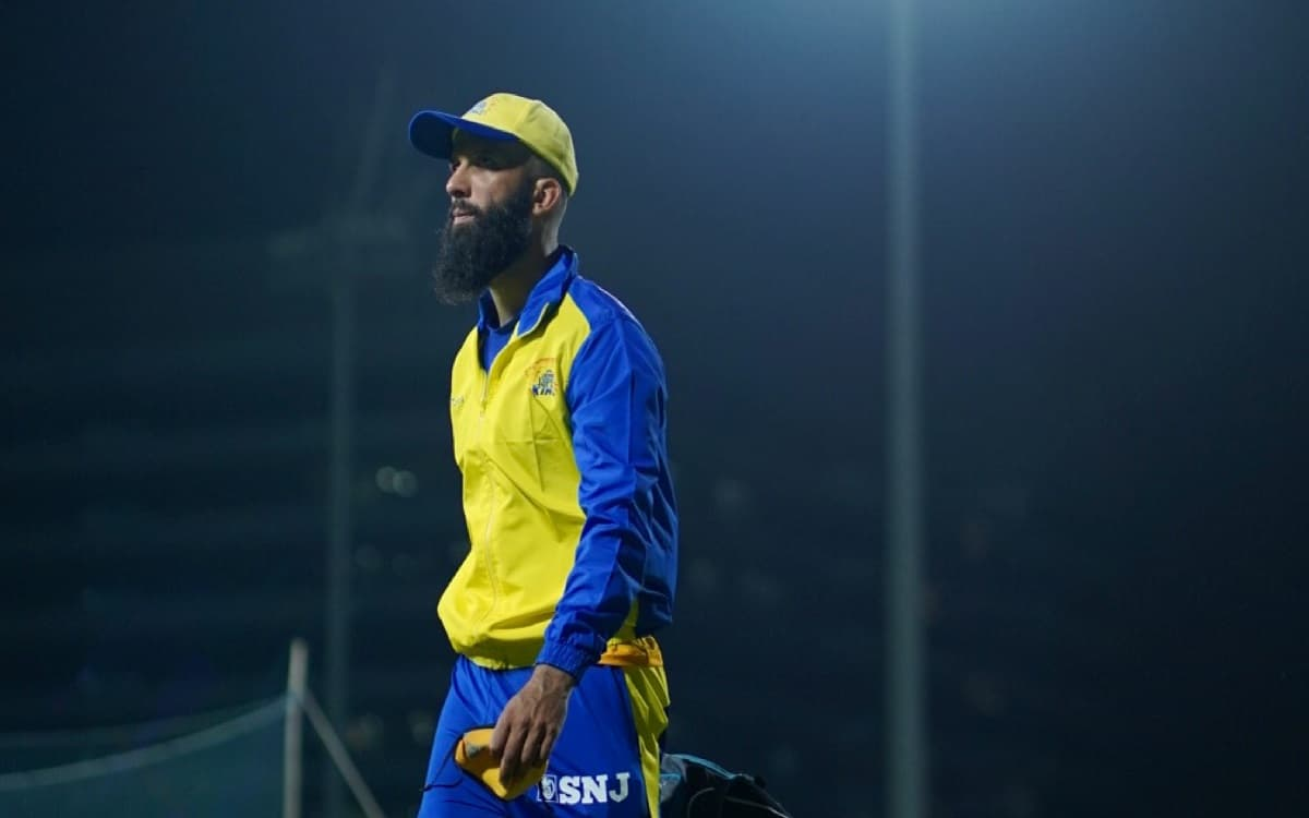 Cricket Image for IPL 2021: Csk Breaks Silence On Moeen Alis Beer Brand Logo Calrified All The Rumou
