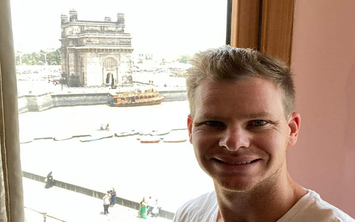 Cricket Image for Steve Smith Arrives In Mumbai To Join Delhi Capitals For Ipl 2021