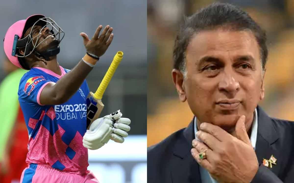 Cricket Image for सुनील गावस्कर ने लगाई संजू सैमसन को फटकार, कहा- इसीलिए इंडियन टीम में नहीं होता से