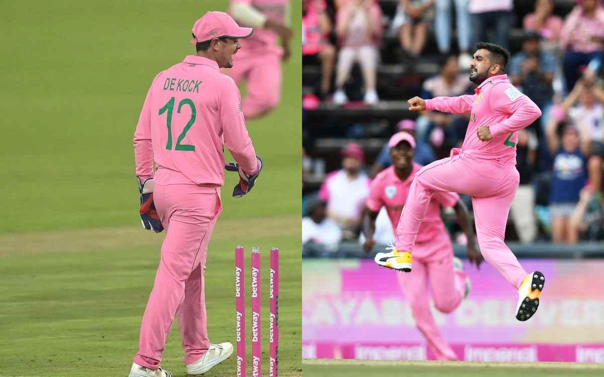 Cricket Image for 'नफ़रत फैलाना बंद करो और डी कॉक को अकेला छोड़ दो', फख़र ज़मान के विवादित रनआउट पर