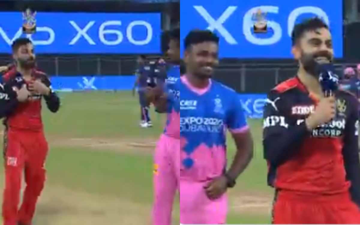 Cricket Image for VIDEO : टॉस जीतकर खुद भी नहीं हुआ यकीन, संजू सैमसन के सामने 'Confusion' में नजर आए