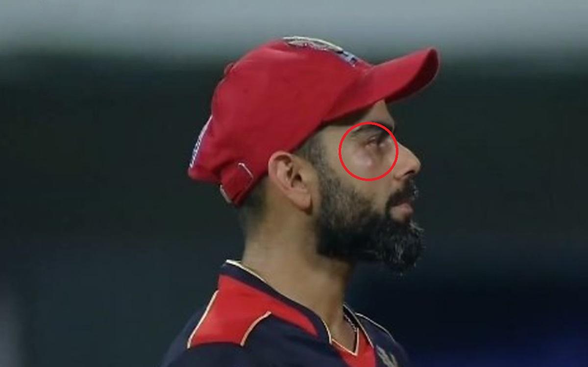 Cricket Image for  Ball Hit Under Virat Kohli Eyes